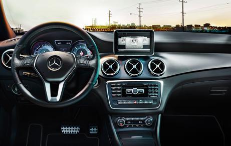 Mercedes-CLA45-AMG-Interior