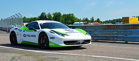 green 458 into depomini